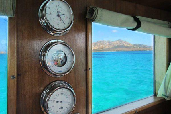 Escursione in barca all'Asinara con Cassiopea